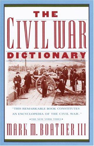 Download The Civil War dictionary