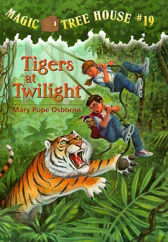 Tigers at twilight