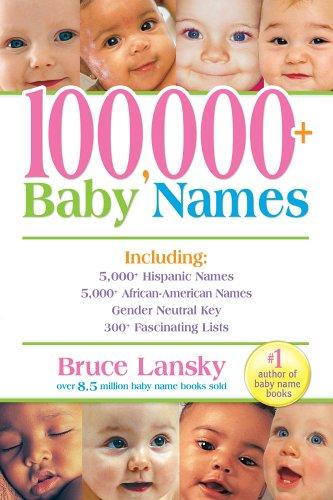 Download 100,000 + Baby Names