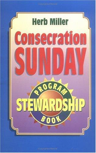 Download Consecration Sunday Stewardship Program