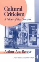 Download Cultural criticism