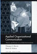 Download Applied Organizational Communication
