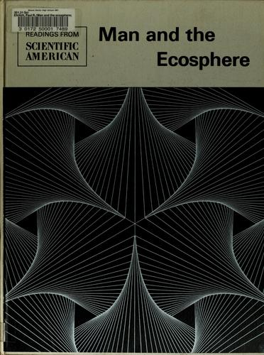Man and the ecosphere