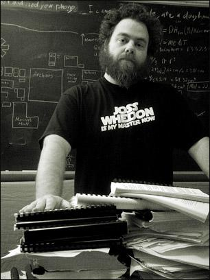Photo of Patrick Rothfuss