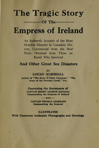 Download The tragic story of the Empress of Ireland