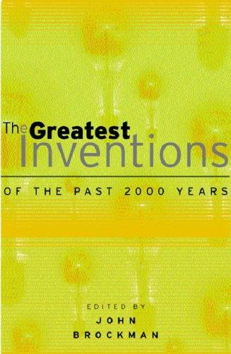 The Greatest Inventions of the Past 2000 Years