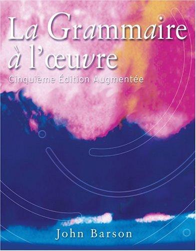 Download La grammaire à l'œuvre