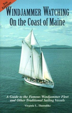 Download Windjammer watching on the coast of Maine