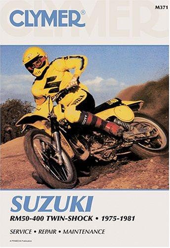 Suzuki RM50-400 twin-shock, 1975-1981