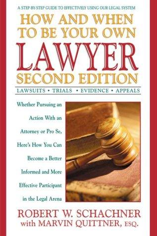 Download How and when to be your own lawyer