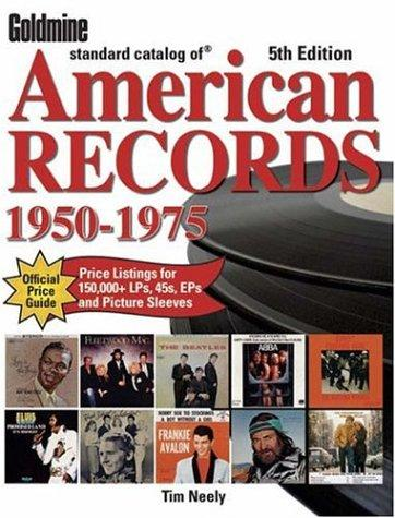 Download Goldmine Standard Catalog of American Records 1950-1975