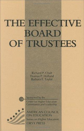 Download The effective board of trustees