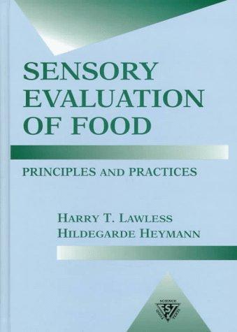 Download Sensory evaluation of food