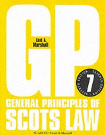Download General principles of Scots law