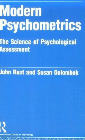 Download Modern psychometrics