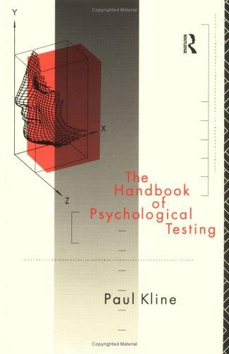Download The handbook of psychological testing
