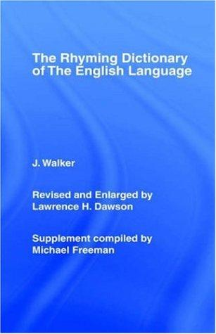 Walker's Rhyming Dictionary of the English Language