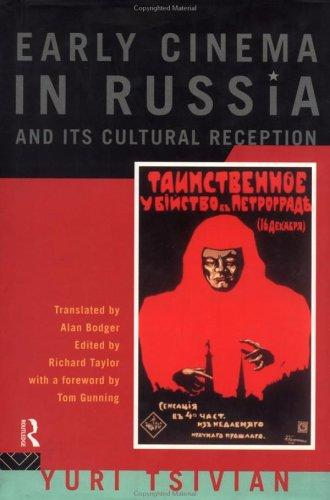 Download Early cinema in Russia and its cultural reception