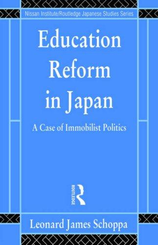 Download Education reform in Japan