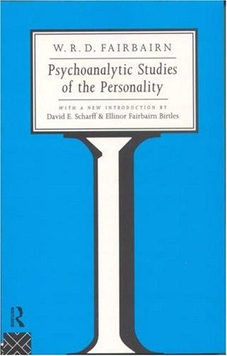Download Psychoanalytic studies of the personality