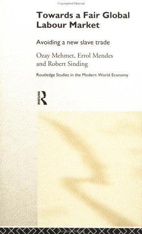 Towards a Fair Global Labour Market