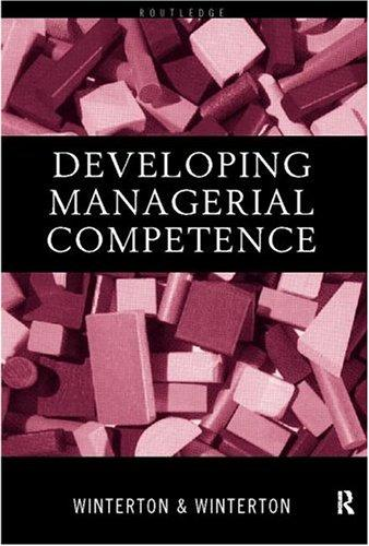 Download Developing managerial competence