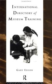 International Directory Of Museum Training PDF Download