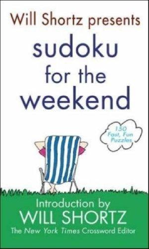 Download Will Shortz Presents Sudoku for the Weekend