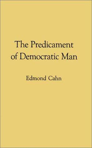 Download The predicament of democratic man