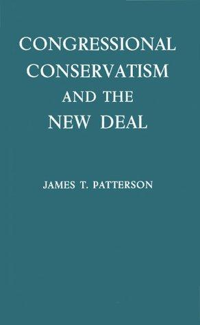 Download Congressional conservatism and the New Deal