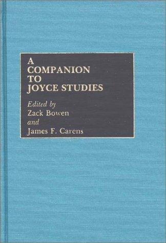 Image for A Companion to Joyce Studies
