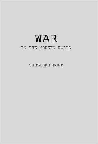 Download War in the modern world