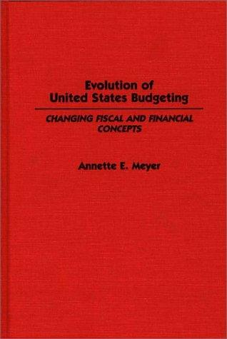 Evolution of United States budgeting