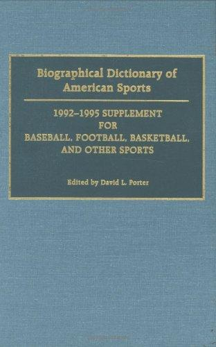 Download Biographical Dictionary of American Sports