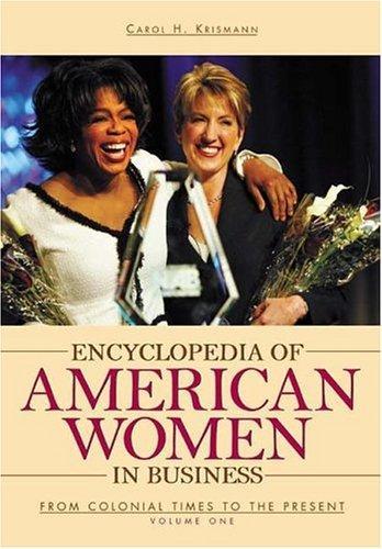 Encyclopedia of American women in business