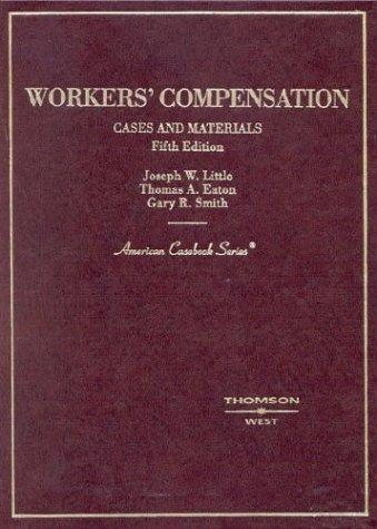 Download Cases and materials on workers' compensation