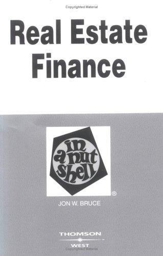 Download Real estate finance in a nutshell