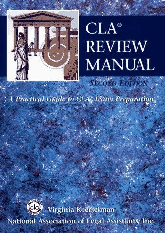 Download CLA review manual