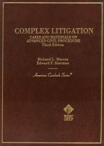 Download Complex litigation