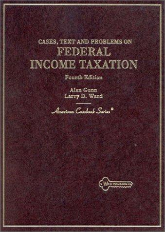 Download Cases, text, and problems on federal income taxation