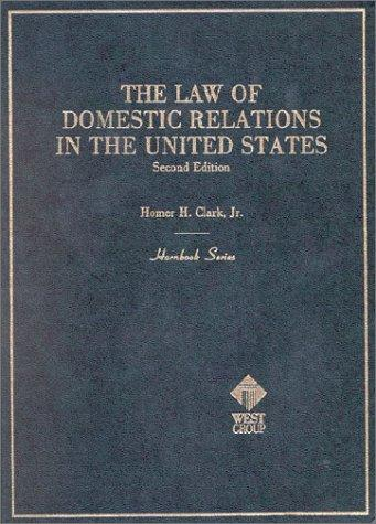 Download The law of domestic relations in the United States