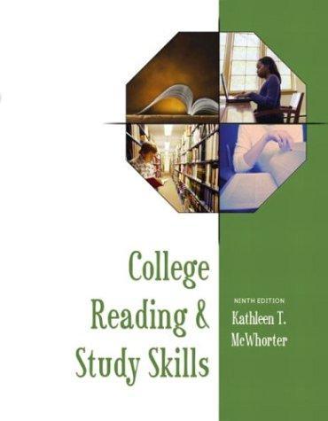 College reading & study skills