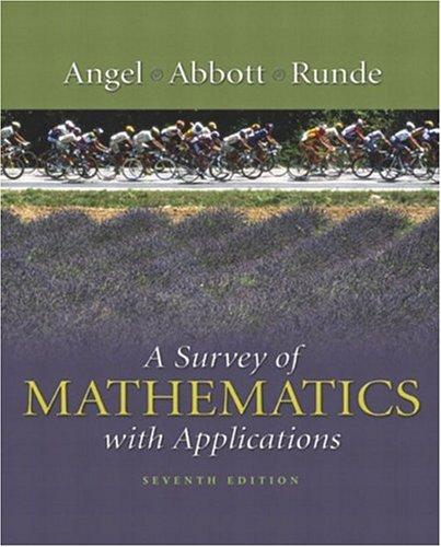 A survey of mathematics with applications.