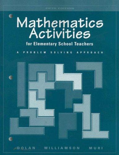 Download Mathematics activities for elementary school teachers