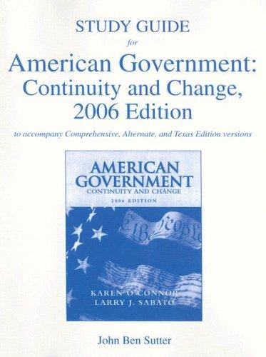 Download American Government:  Continuity and Change