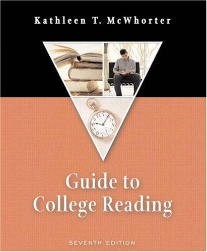 Guide to College Reading (with MyReadingLab) (7th Edition)