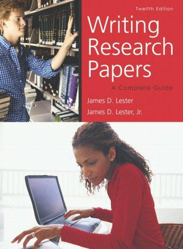 Download Writing Research Papers (spiral bound) (12th Edition)