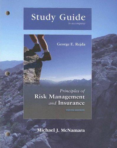 Principles of Risk Management & Insurance