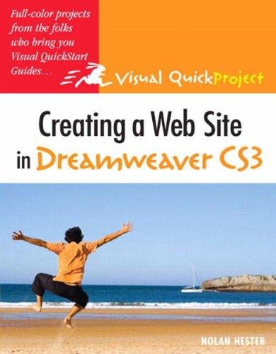 Download Creating a Web Site in Dreamweaver CS3