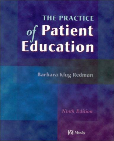 Download The Practice of Patient Education
